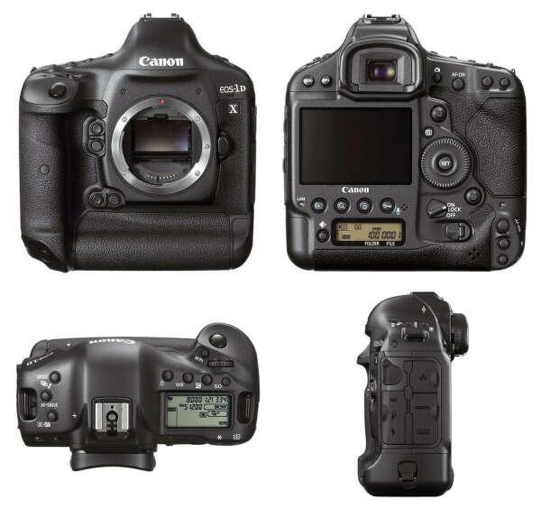 Фотоаппарат Canon EOS-1D X Body (5253B014)