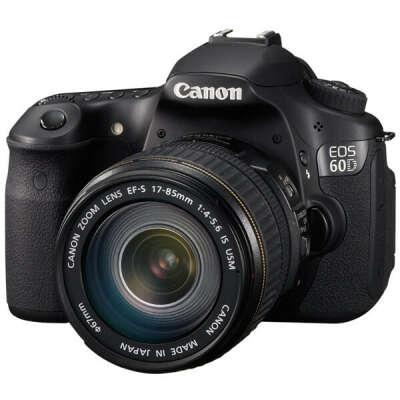 Фотоаппарат CanonEOS 60D Kit 17-85 IS USM black