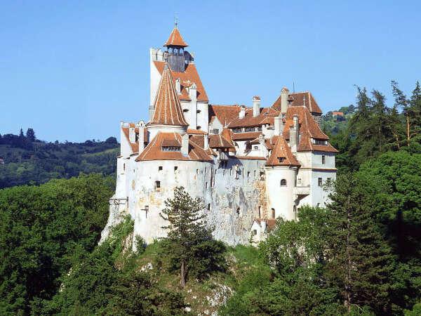 Румыния. Замок дракулы