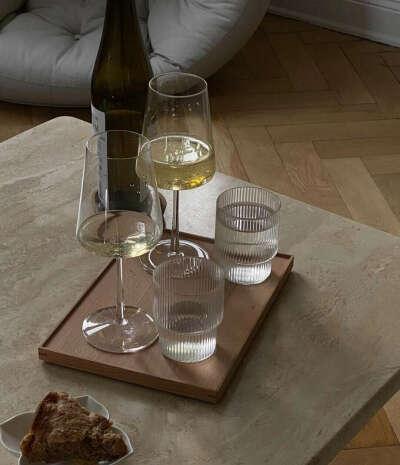 необычные стаканы стеклянные (пара)