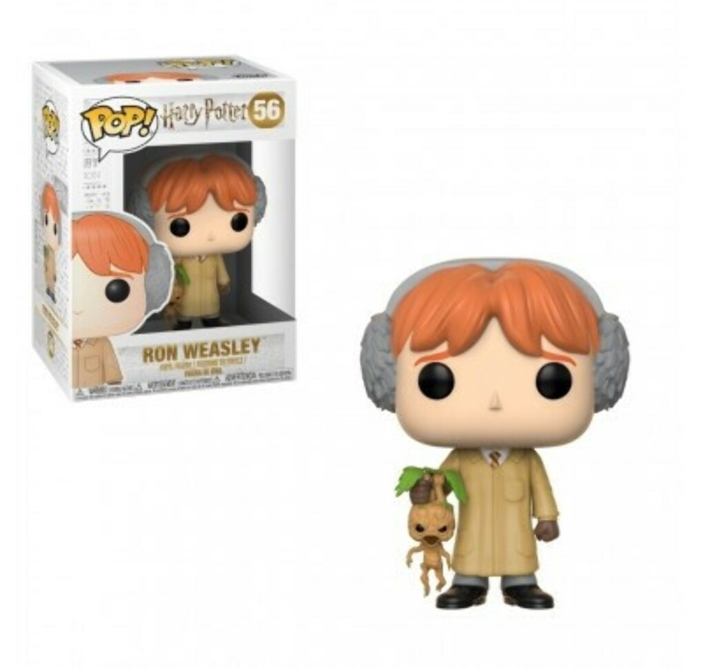 Фигурка Рон Уизли Травология (Ron Weasley Herbology) Фанко ПОП Россия из фильма Harry Potter — Funko POP Russia
