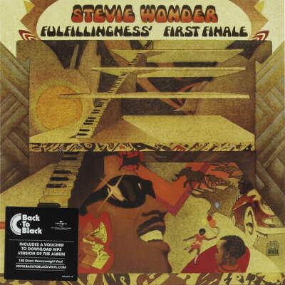 Виниловая пластинка STEVIE WONDER - FULFILLINGNESS' FIRST FINALE