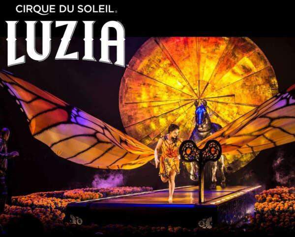 Cirque du Soleil в России LUZIA