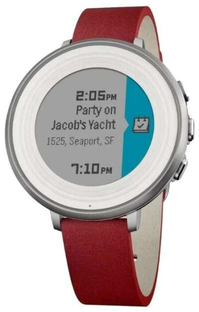 Часы Pebble Time Round (14mm)
