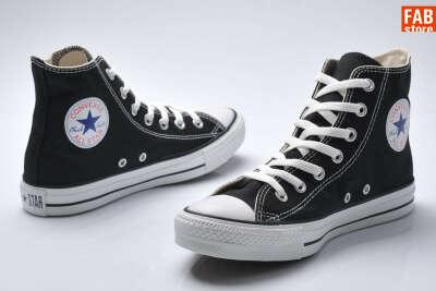 Converse. Hi black.