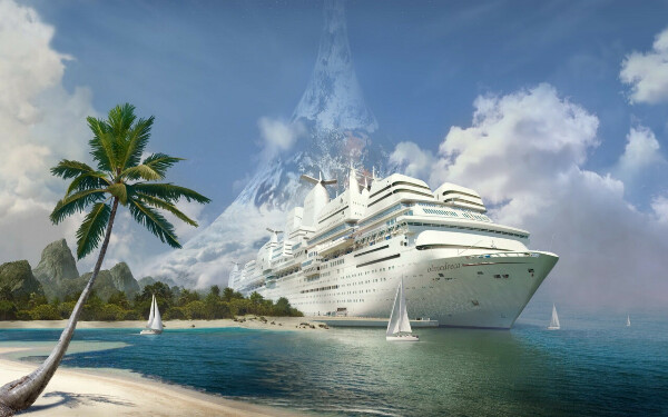 Круиз на лайнере по остовам Карибского бассейна