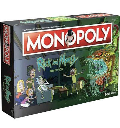 Monopoly Настольная игра Hobby World Монополия. Рик и Морти