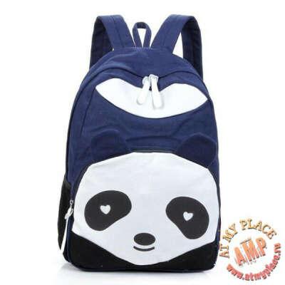 """Синий рюкзак """"Панда"""""""