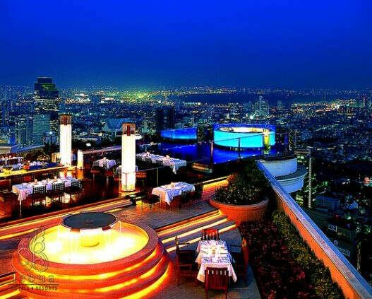 Посетить кафе на крыше небоскрёба