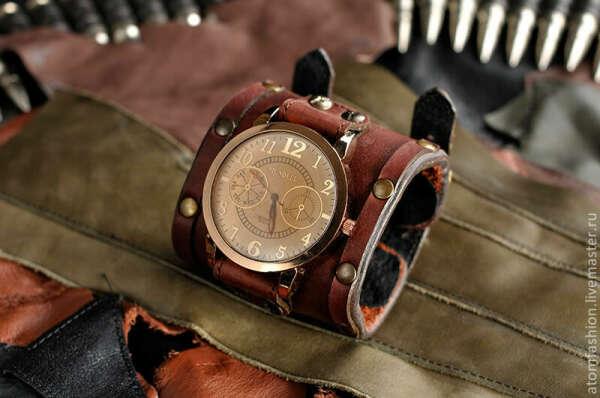 Другие наручные стимпанковские часы