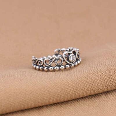 crown ring pandora