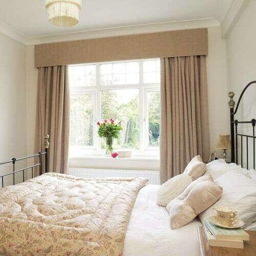 Новые шторы в спальню