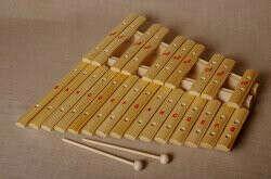 Мастерская Сереброва к1-кс-12 Ксилофон хроматический До мажор (25 пластин, на низком резонаторе, ель)
