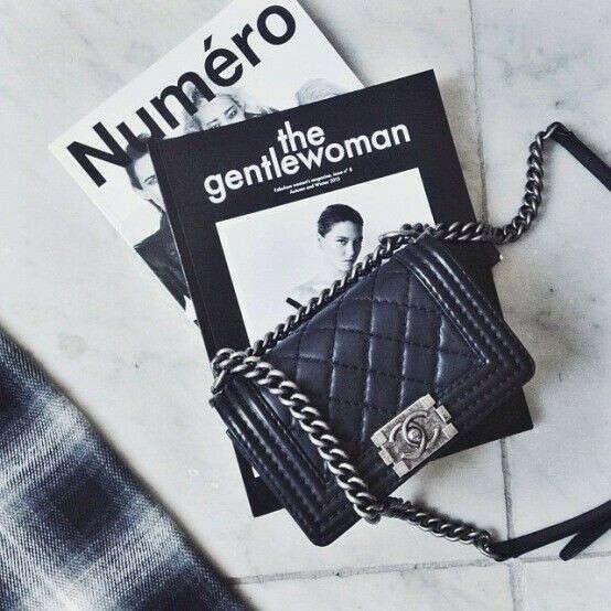 Маленькая чёрная сумка