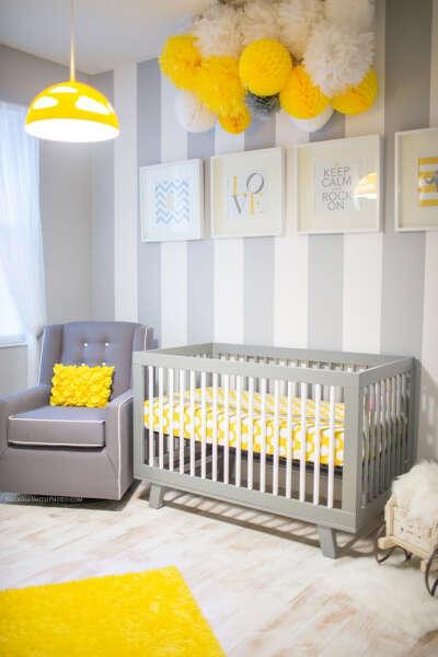 Стильную детскую комнату