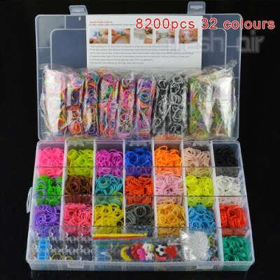 Rainbow loom Kit 13500 pcs