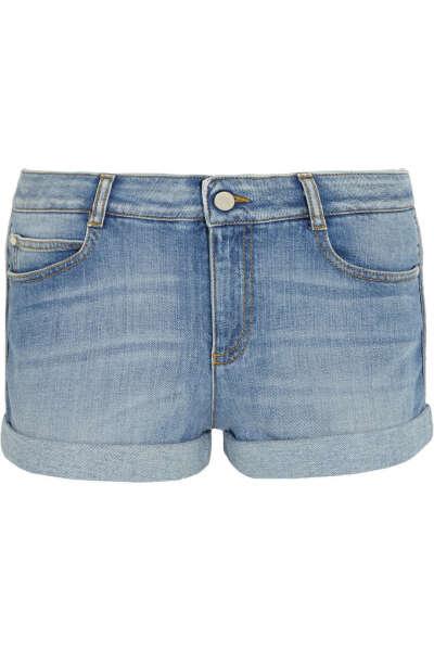 Шорты простые джинсовые