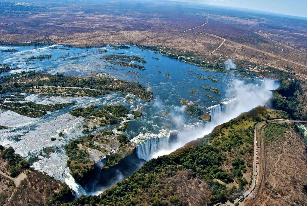 Увидеть водопад Виктория