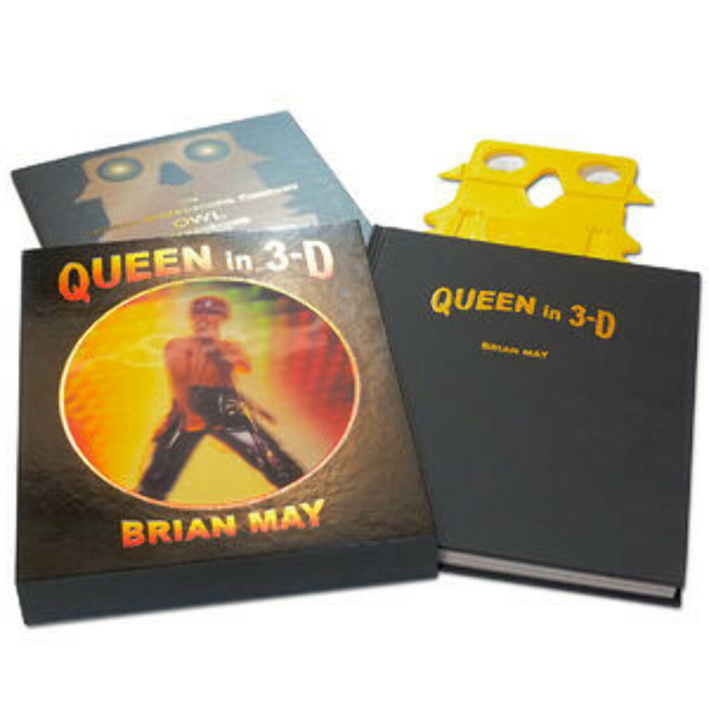 Queen in 3D book