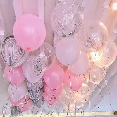 Много воздушных шаров