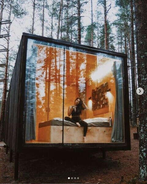 Выходные в ЭКОДОМЕ Greenvald Парк Скандинавия