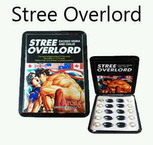 Stree Overlord Strong Male Sex Enhancer 1 Tin 10 Pills