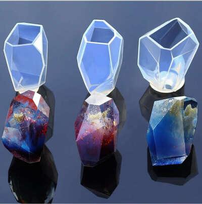 Прозрачная силиконовая форма для эпоксидной смолы или мыла