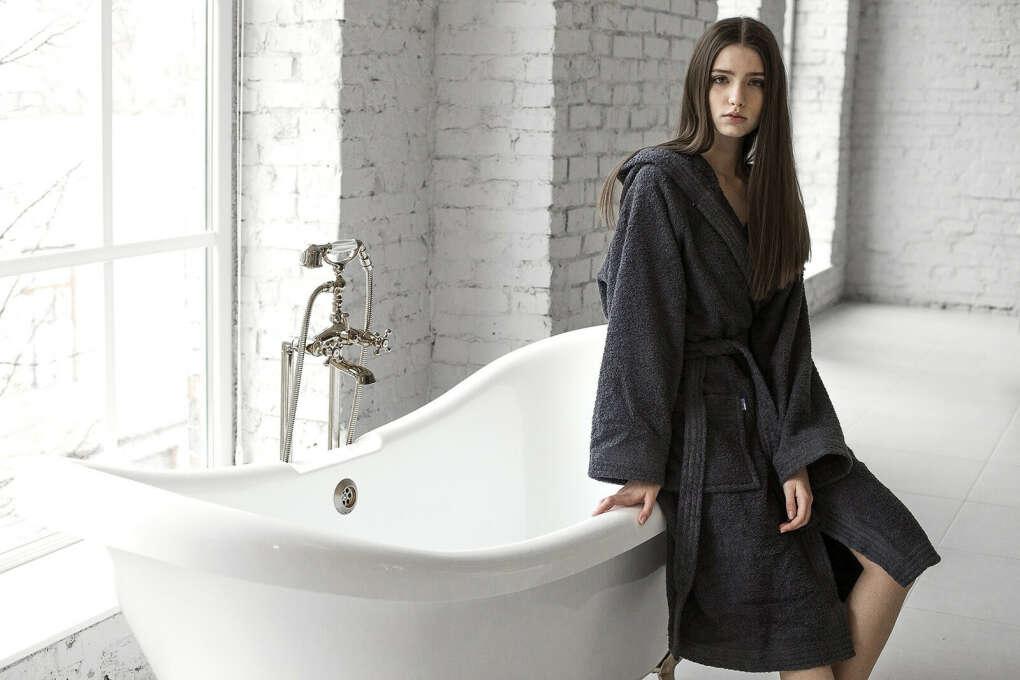 Graphite Bath Robe  Банный халат S-M