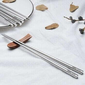 Металлические палочки для еды