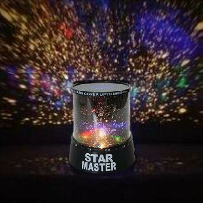 Проектор звездного неба Star master black + Адаптер 220В