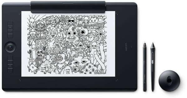 Купить Графический планшет WACOM Intuos Pro Paper PTH-860P-R черный по выгодной цене в интернет-магазине СИТИЛИНК
