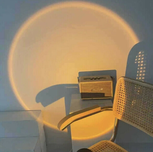лампа с проекцией заката