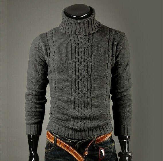 Связать своему парню свитер