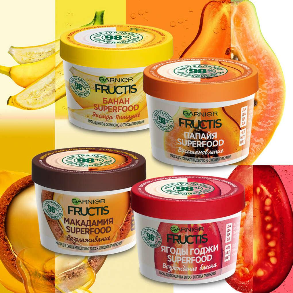 Маска для волос Garnier Fructis Superfood
