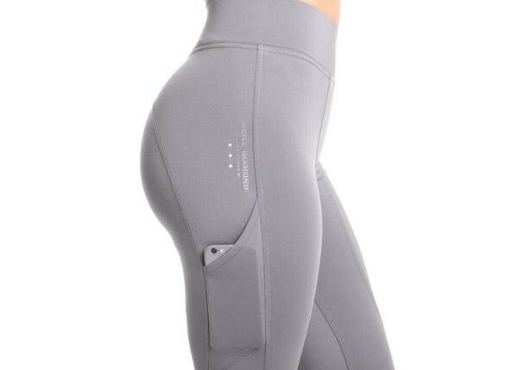 Silver Technical Stretch Leggings