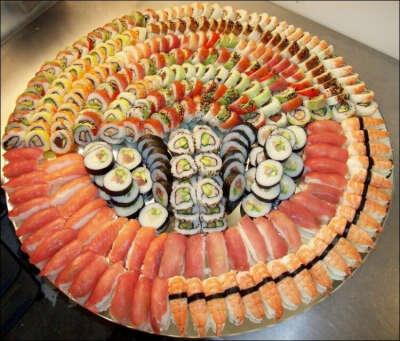 Посетить суши бар