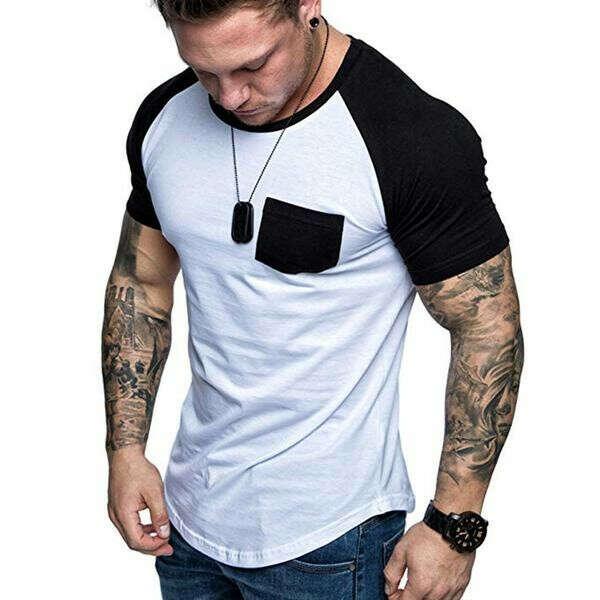 Fashion Men's Slim Fit T-shirt