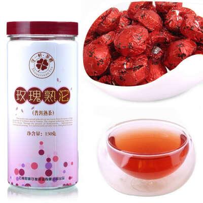 Чай Пуэр Чайная роза aliexpress