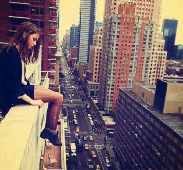 SEE NY FROM ROOF