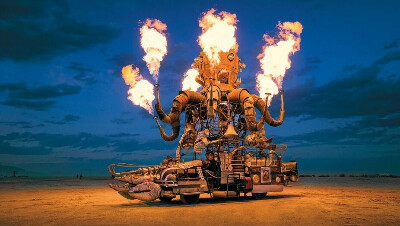 Burning Man - Welcome Home
