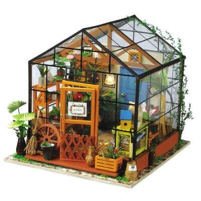 "Интерьерный конструктор для творчества ""Kathy's green house"" бренда DIY House"