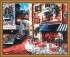 MG078 Menglei Premium раскраска по номерам «Городская улочка» | Купить в интернет-магазине