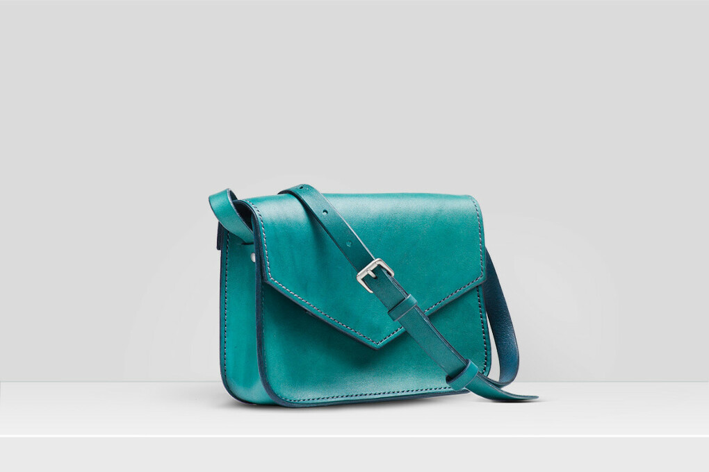 Бирюзовая сумка Maple