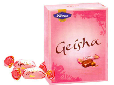 конфеты Fazer Geisha