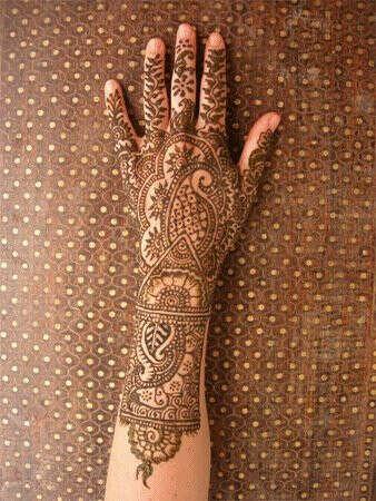 татуировка из хны
