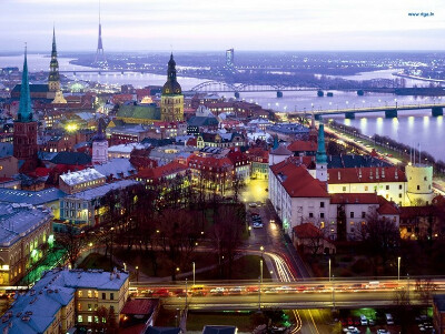 Побывать в Риге, Латвия
