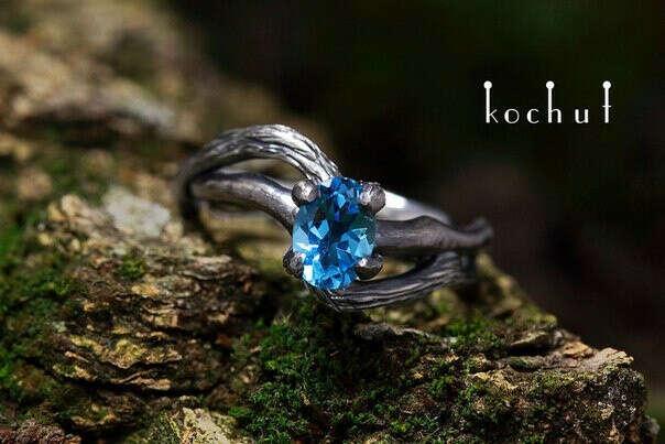 Кольцо «Lignum ІІ» от Kochut