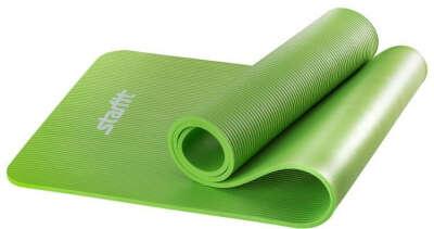 "Коврик для йоги Starfit ""FM-301"", цвет: зеленый, 183 x 58 x 1 см"