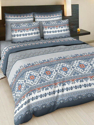 Комплект постельного белья, семейный (на 2 одеяла)
