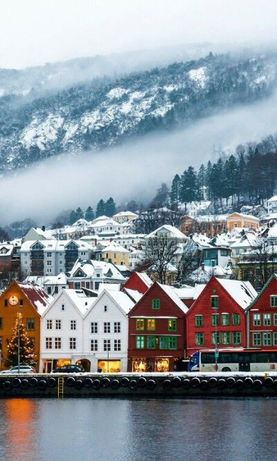 Посетить Норвегию зимой